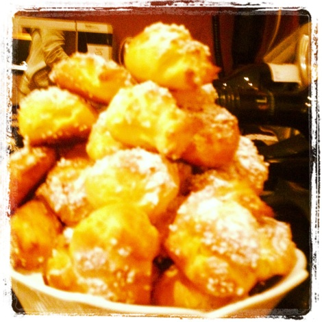 "My Homemade ""Chouquettes"""