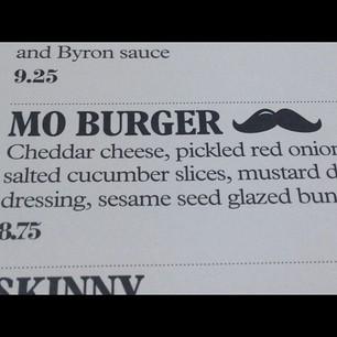 Mo' Burger (special Movember)