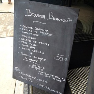 Beaucoup - New restaurant (disappointing & expensive)