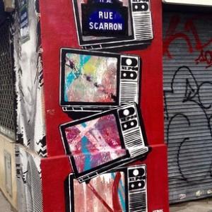 Street art - boulevard Beaumarchais