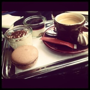 Cafe gourmand at Le Verse Toujours