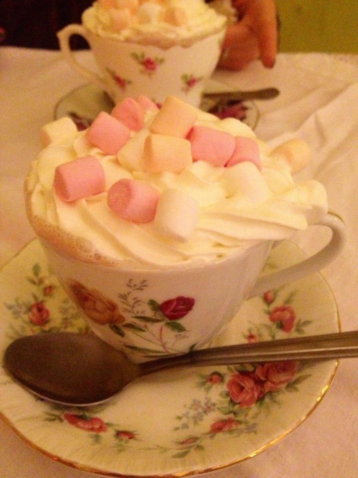 Marshmallow & Cream Hot Chocolate