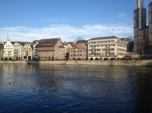 Beautiful day in Zurich