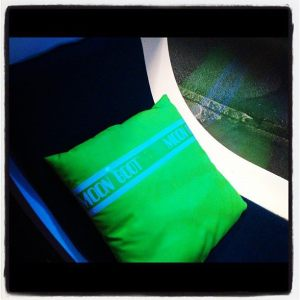 Neon Moonboot Pillows