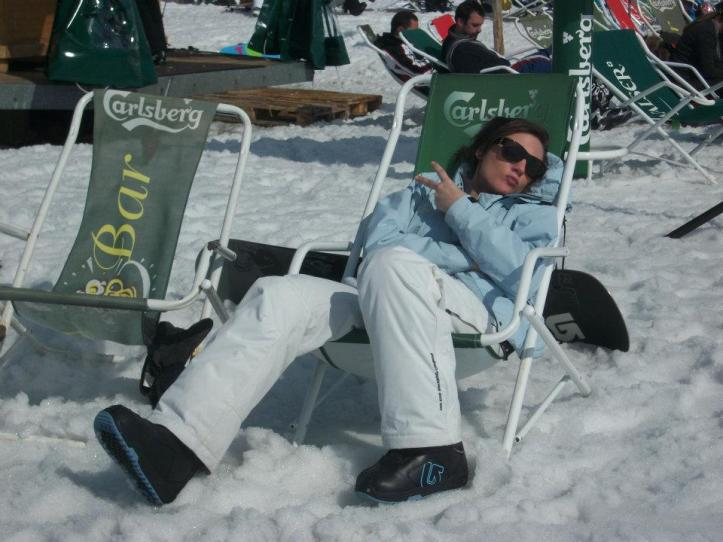 LYA chills on the slopes