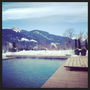 Round 3: lunch & spa at the Alpina