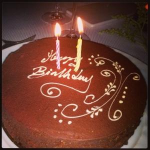 Bday Choco Cake