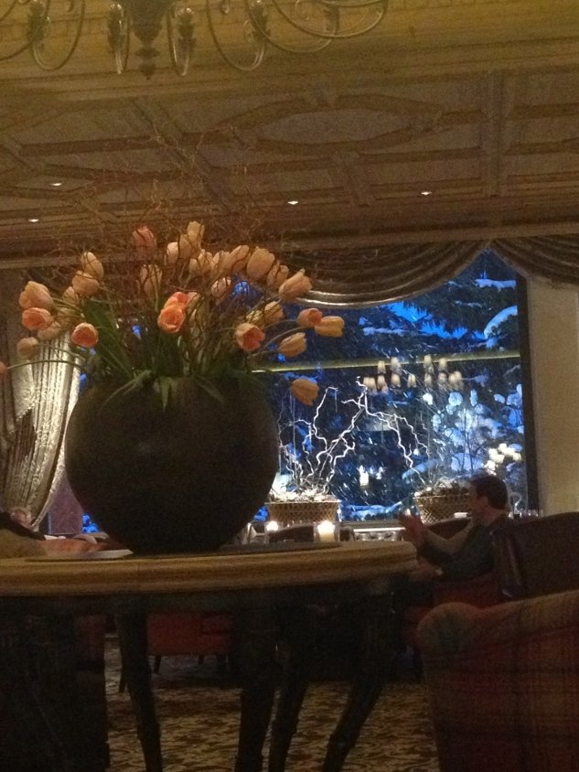 Round 1: tea time at the Gstaad Palace