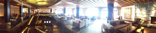 Panoramic view of the lounge