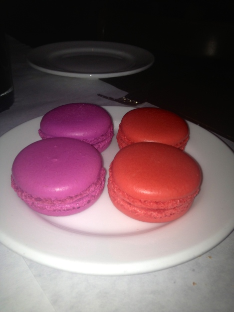 Strawberry & Raspberry Macaroons