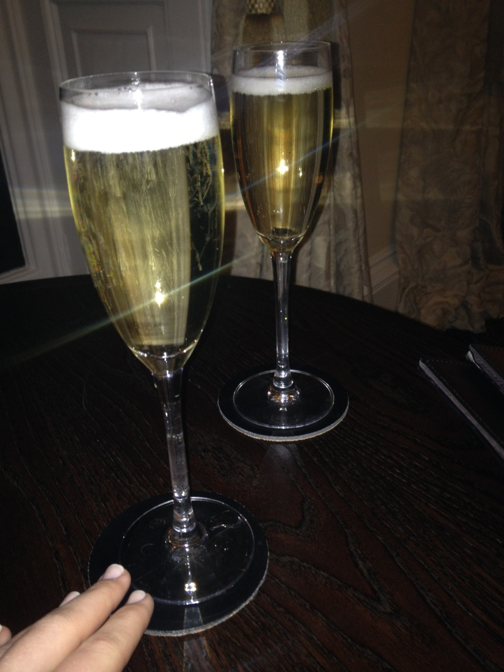 Can't celebrate without bubbles ;)