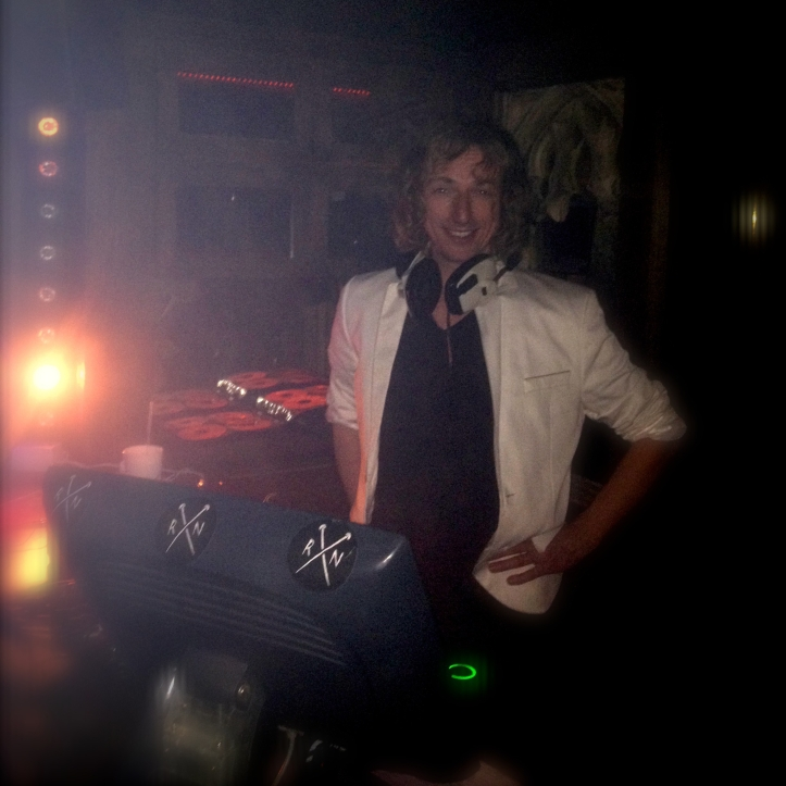 DJ at Rusty Nail London